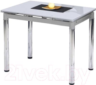 Обеденный стол Halmar Logan 2 (белый)