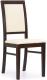 Стул/кресло для дома Halmar Sylwek 1 (темный орех/экокожа madryt 111) -