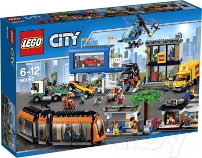 Конструктор Lego City Городская площадь (60097) - упаковка