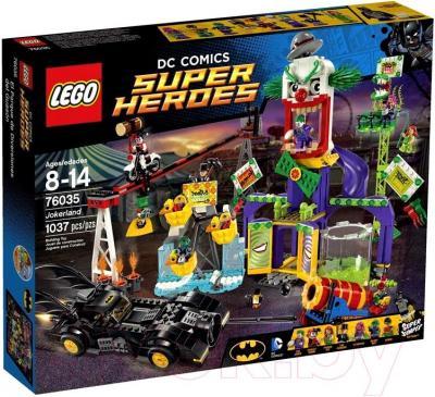 Конструктор Lego Super Heroes Джокерленд (76035) - упаковка