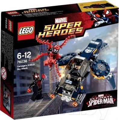 Конструктор Lego Super Heroes Воздушная атака Карнажа (76036) - упаковка