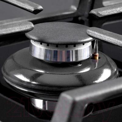 Газовая варочная панель Pyramida PFG 614 STX - конфорка