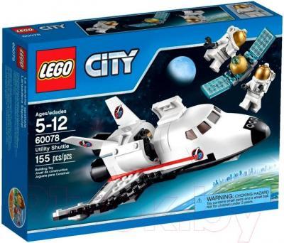 Конструктор Lego City Обслуживающий шаттл (60078) - упаковка