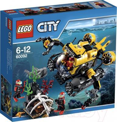 Конструктор Lego City Глубоководная подводная лодка (60092) - упаковка