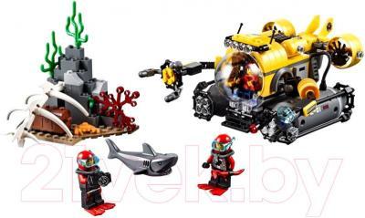 Конструктор Lego City Глубоководная подводная лодка (60092) - общий вид