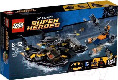 Конструктор Lego Super Heroes Погоня в бухте на Бэткатере (76034) - упаковка