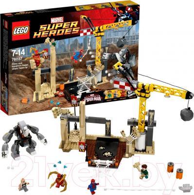 Конструктор Lego Super Heroes Рино и Песочный человек против Супергероев (76037) - общий вид