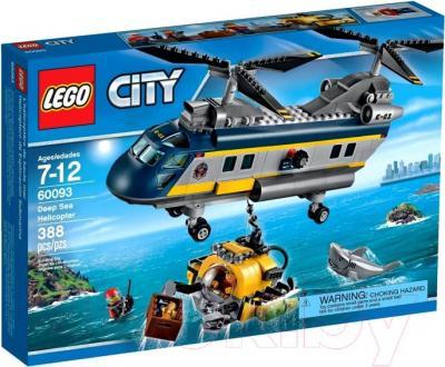 Конструктор Lego City Вертолет исследователей моря (60093) - упаковка
