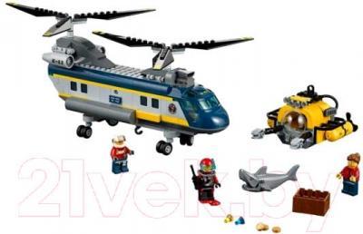 Конструктор Lego City Вертолет исследователей моря (60093) - общий вид