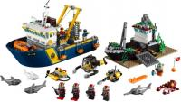 Конструктор Lego City Корабль исследователей морских глубин (60095) -