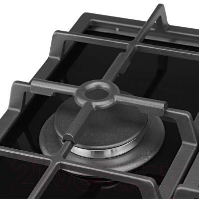 Газовая варочная панель Pyramida PFG 640 LUXE (черный) - подставка для турки