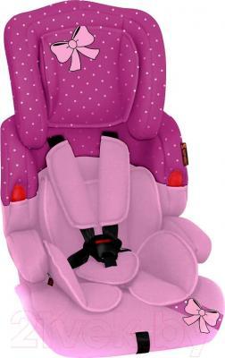 Автокресло Lorelli Kiddy (Pink Ribbon) - общий вид