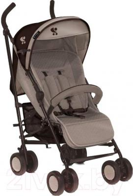Детская прогулочная коляска Lorelli I-Move (бежево-коричневый) - общий вид