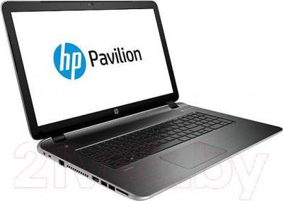 Ноутбук HP Pavilion 17-f250ur (L2E33EA) - вполоборота