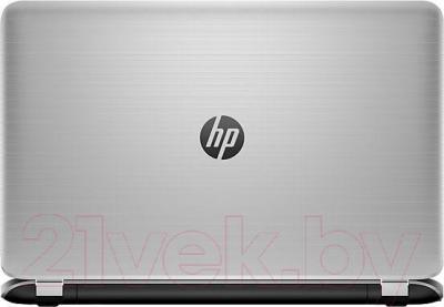 Ноутбук HP Pavilion 17-f250ur (L2E33EA) - вид сзади