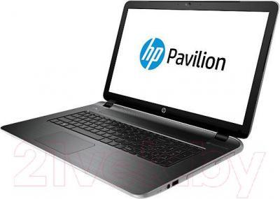 Ноутбук HP Pavilion 17-f203ur (L1T87EA) - вполоборота