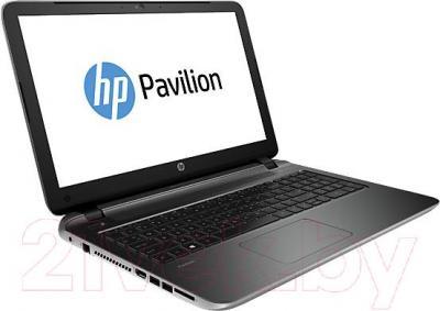 Ноутбук HP Pavilion 15-p266ur (L2V61EA) - вполоборота