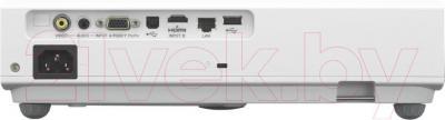 Проектор Sony VPL-DX127 - вид сзади