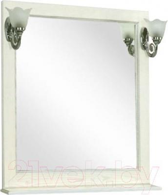 Зеркало для ванной Акватон Жерона 85 (1A1587K0GEM20) - общий вид