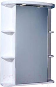 Шкаф с зеркалом для ванной Акватон Кристалл 65 (1A000102KS01L) - общий вид