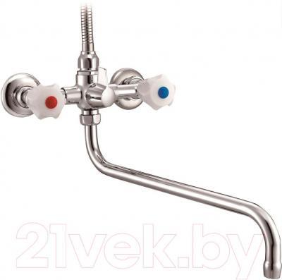 Смеситель Belezzo Kristina SA101R - вид вентиля отличается от представленного на фото, см. следующее