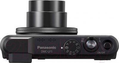 Компактный фотоаппарат Panasonic Lumix DMC-LF1EE-K - вид сверху
