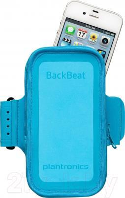 Наушники-гарнитура Plantronics BackBeat FIT (синий) - нарукавник для смартфона