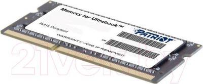 Оперативная память DDR3L Patriot PSD34G1600L2S - общий вид