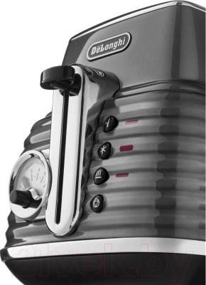 Тостер DeLonghi CTZ 2103.GY - детальное изображение