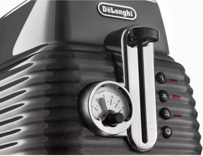 Тостер DeLonghi CTZ 2103.GY - общий вид