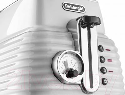 Тостер DeLonghi CTZ 2103.W - панель управления