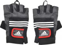 Перчатки для пауэрлифтинга Adidas Leather Lifting Glove S/M ADGB-12124 -