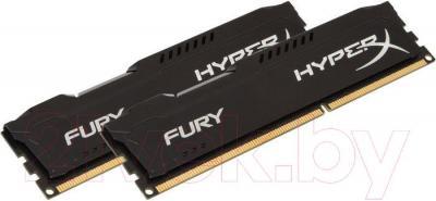 Оперативная память DDR3 Kingston HX318C10FBK2/8 - общий вид