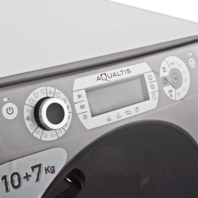 Стирально-сушильная машина Hotpoint AQD1070D 49 EU/B - панель управления