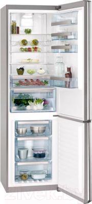 Холодильник с морозильником AEG S99382CMX2