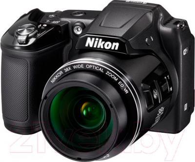Компактный фотоаппарат Nikon Coolpix L840 (черный) - общий вид