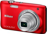 Фотоаппарат Nikon Coolpix S2900 (красный) -