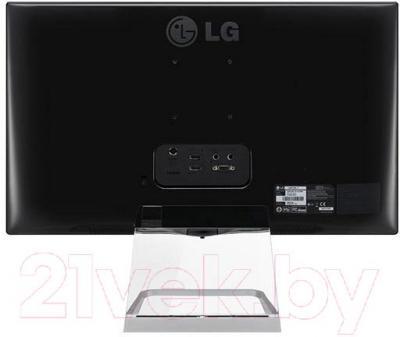Монитор LG 24MP77HM-P - вид сзади