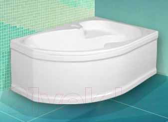 Ванна акриловая Artel Plast Валерия R 160x105