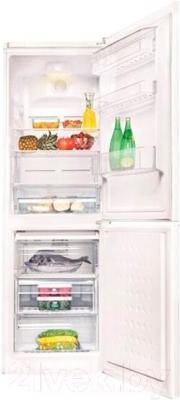 Холодильник с морозильником Beko CN328102S - внутренний вид