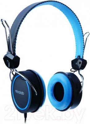 Наушники Microlab K300 (черно-синий) - общий вид