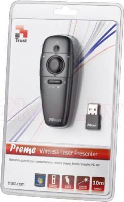 Универсальный пульт ДУ Trust Preme Wireless Laser Presenter - упаковка