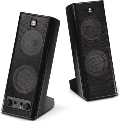 Мультимедиа акустика Logitech X-140 (970264-0914) - Общий вид