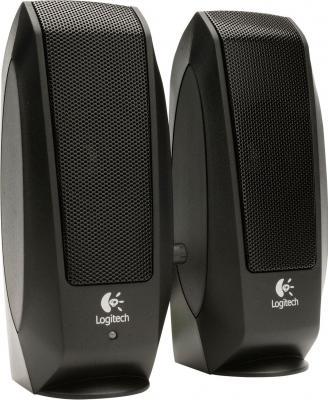 Мультимедиа акустика Logitech Speakers S-120 (980-000010) - вид спереди