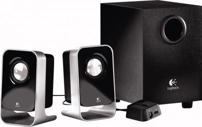 Мультимедиа акустика Logitech Speakers LS-21 (980-000056) - общий вид