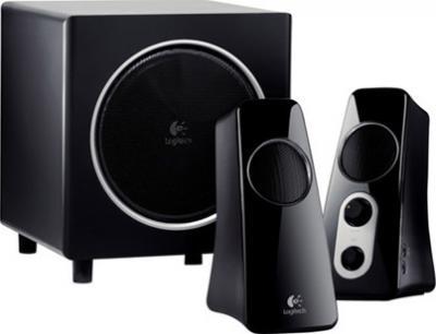 Мультимедиа акустика Logitech Speaker System Z523 (980-000321) - общий вид