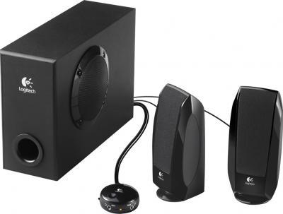 Мультимедиа акустика Logitech Speakers S-220 (980-000021) - общий вид