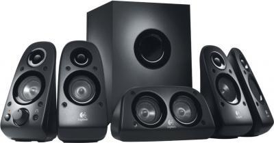 Мультимедиа акустика Logitech Surround Speaker Z506 (980-000431) - общий вид