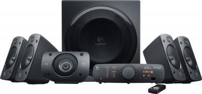 Мультимедиа акустика Logitech Speakers Z906 (980-000468) - общий вид