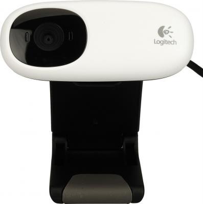 Веб-камера Logitech Webcam C110 (960-000754) - вид спереди